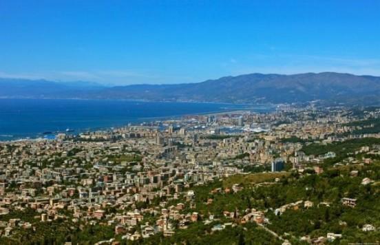 Vista di Genova