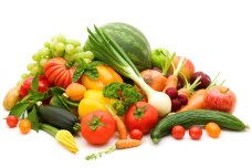 bio fresh fruits and vegetables